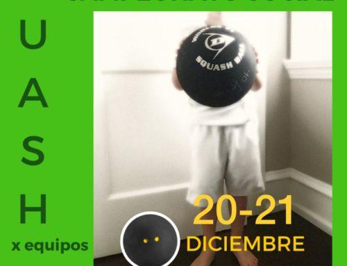 19 y 20 de diciembre, Campeonato social Benedikta 2019 (por equipos)